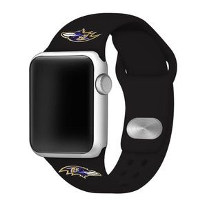 Baltimore Ravens Apple Compatible Watchband